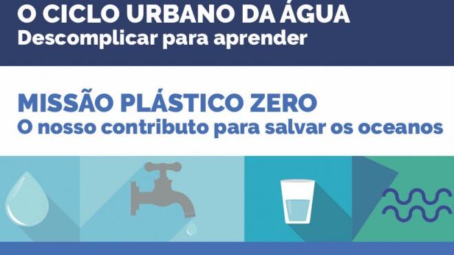 """Projecto """"Heróis da Água"""" destaca ciclo urbano da água"""