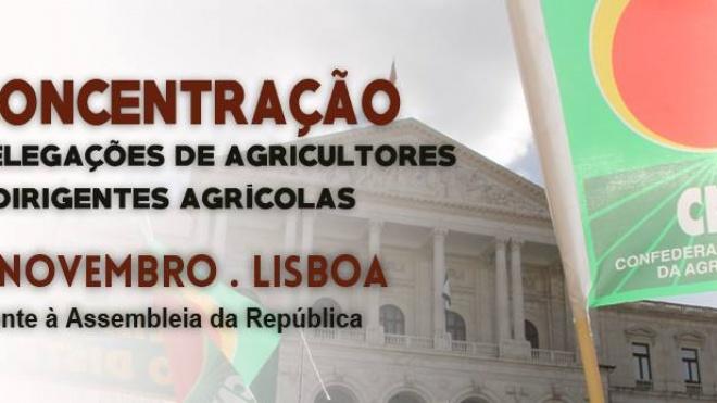 CNA: Concentração de agricultores e do mundo rural
