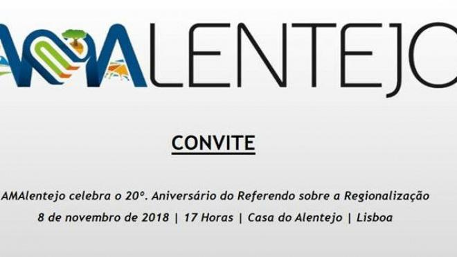 AMAlentejo comemora 20º aniversário do Referendo sobre Regionalização