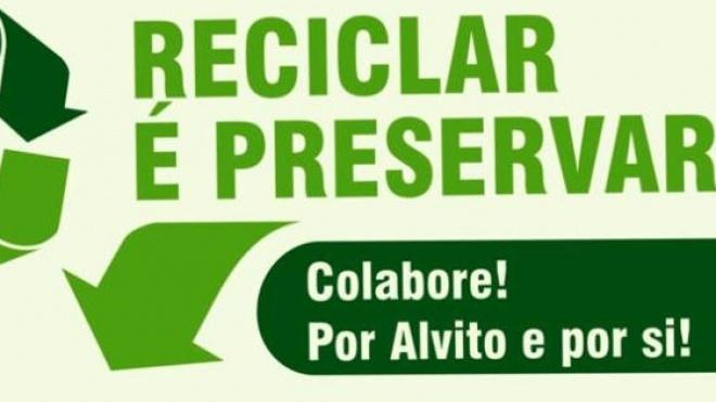 Alvito promove sessões sobre reciclagem