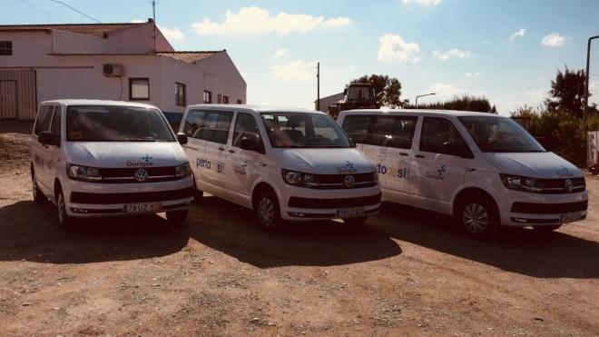 Ourique: autarquia comprou três carrinhas para transporte escolar