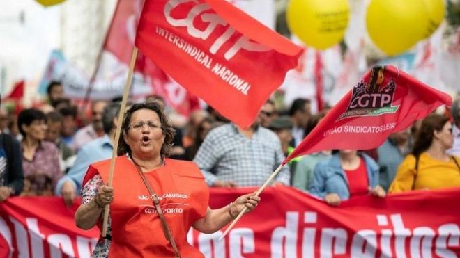 """Distrito de Beja """"presente"""" na manifestação nacional da CGTP-IN"""