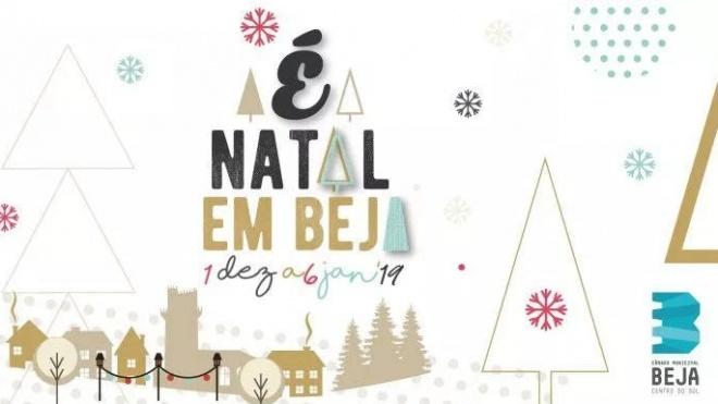 """A iniciativa """"É Natal em Beja"""" continua a animar a cidade"""