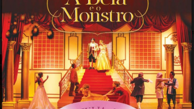 Peça de teatro musical A Bela e o Monstro para ver em Beja