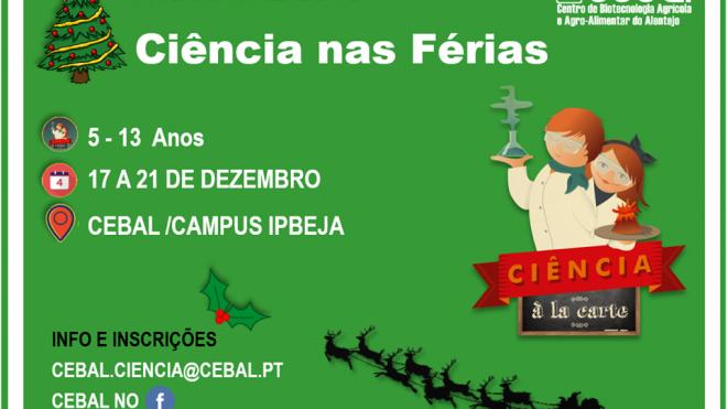 """""""Ciência à la Carte-ATL Natal 2018"""""""