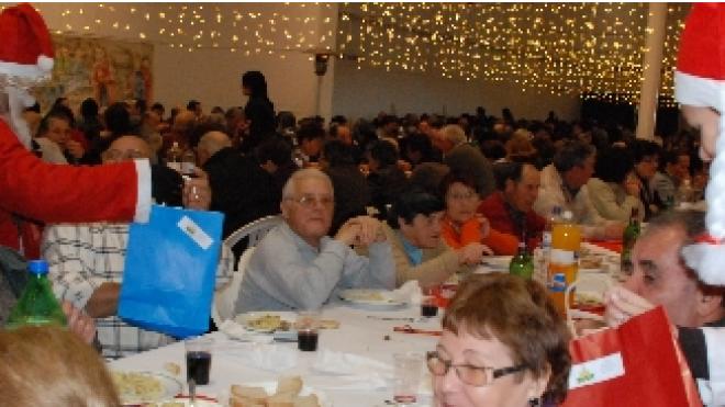 Aljustrel: Almoço de Natal dos Idosos e Pensionistas
