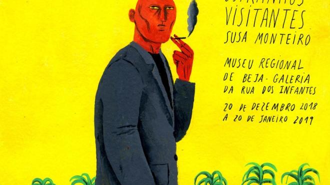 Inauguração da exposição de Susa Monteiro