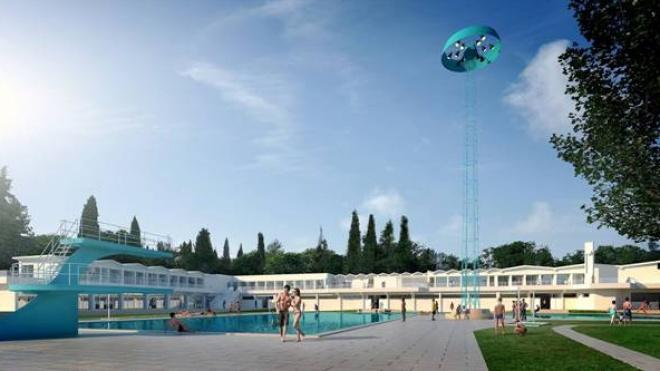 Câmara de Beja reabilita edifício da piscina descoberta