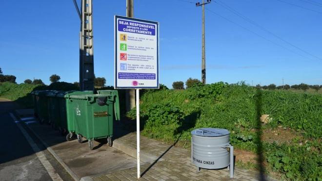 Cuba: autarquia instala recipientes para cinzas