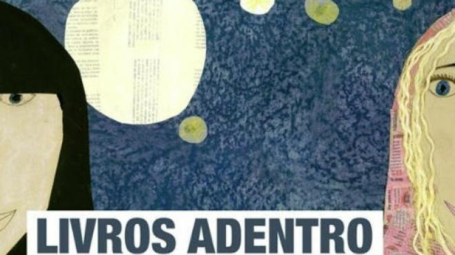 """Exposição itinerante """"Livros Adentro"""""""