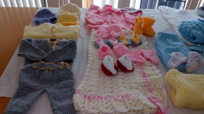 """""""Tricotadeiras"""" de Alvito fizeram peças para bebés do IPO"""