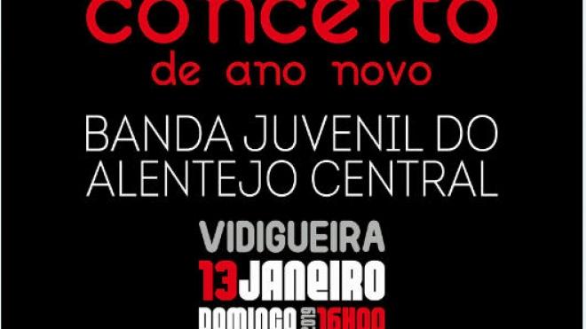 Câmara de Vidigueira realiza Concerto de Ano Novo