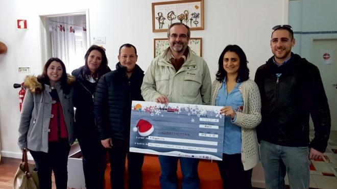 """""""Gorro Saltitão"""" entrega 1150 euros à Buganvília"""