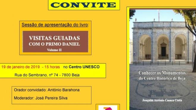 """""""Visitas Guiadas com o Primo Daniel"""" hoje no Centro UNESCO em Beja"""