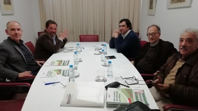 Plataforma Alentejo reuniu-se com direcção nacional do PCP