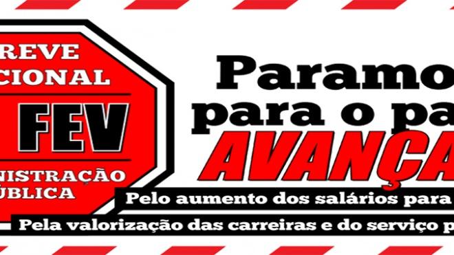 2º e último dia de greve da função pública