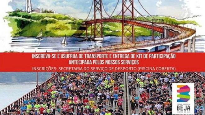"""Autarquia de Beja associa-se à iniciativa """"Correr e caminhar na Ponte"""""""
