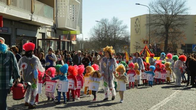 Desfile de Carnaval das Escolas em Beja