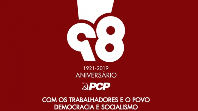 Comissão Concelhia de Aljustrel do PCP comemora 98º aniversário do partido