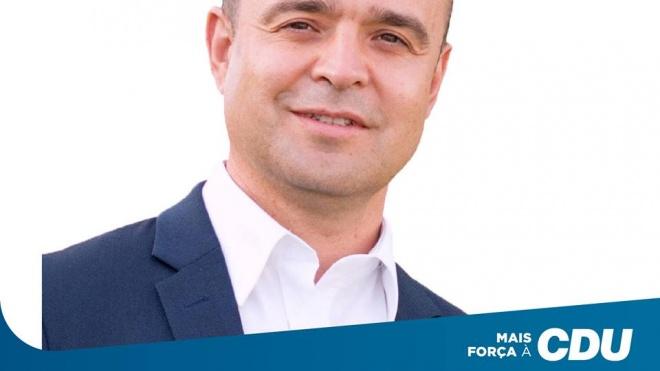 João Dias: 8º na lista da CDU ao PE