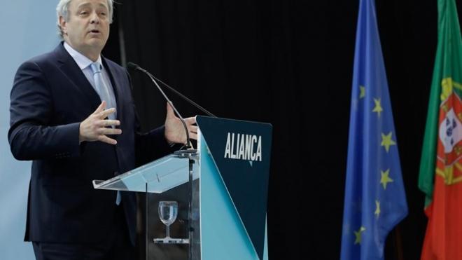Candidato do Aliança às Europeias hoje em Beja