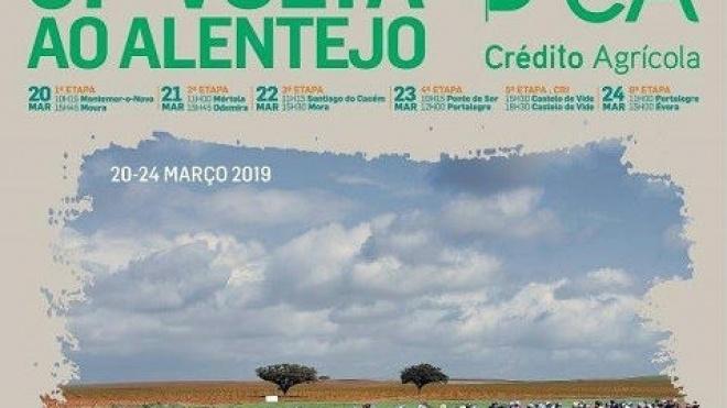 """2ª etapa da """"Alentejana"""" sai do Baixo Alentejo e termina no Alentejo Litoral"""