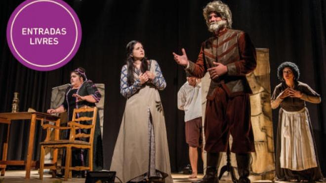 """Odemira propõe para hoje a peça de teatro """"A Galinha o Burro e a Flor"""""""