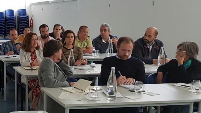 Projeto (Des)construir para a economia circular reuniu-se na CIMBAL