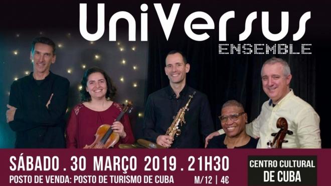 Centro Cultural de Cuba recebe neste sábado UniVersus Ensemble