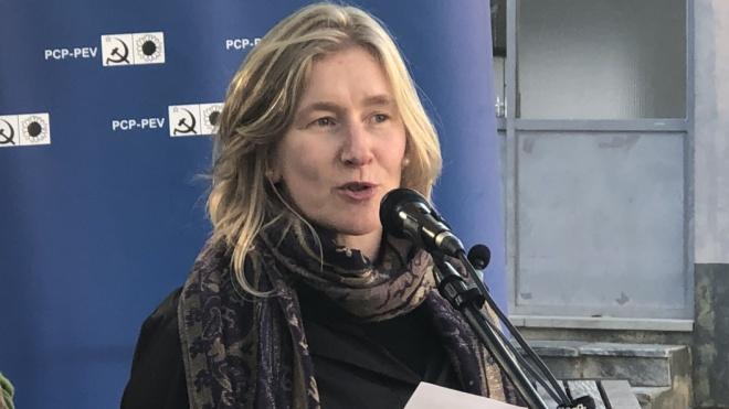 """Sandra Pereira pede """"um voto de confiança na CDU nas eleições europeias 2019"""""""