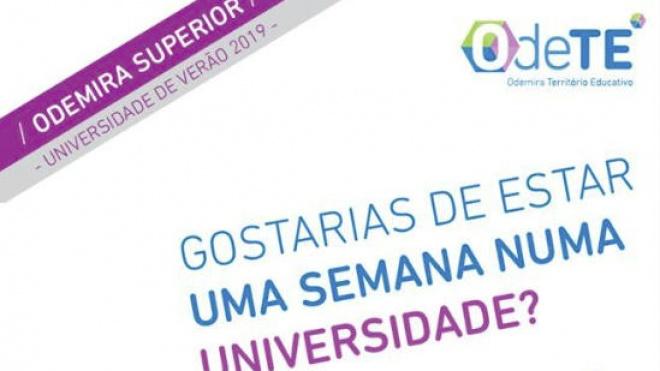 """""""Odemira Superior: Universidade de Verão"""" com candidaturas abertas"""