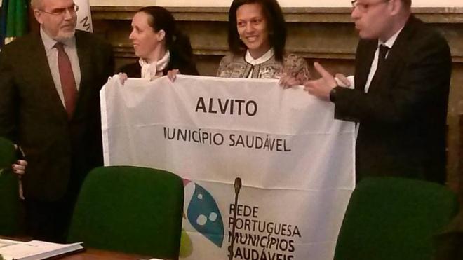 Alvito aderiu à Rede Portuguesa de Municípios Saudáveis