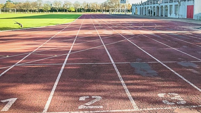 Beja: Nova pista de atletismo no complexo desportivo Fernando Mamede