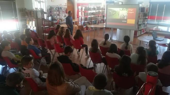"""""""Herança Romana"""" explicada aos alunos de Beja"""