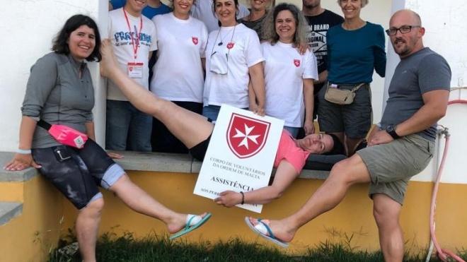ULSBA: profissionais apoiam peregrinos