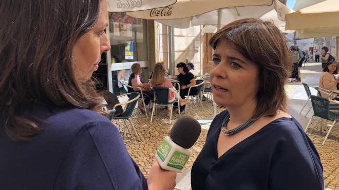 Catarina Martins em Beja