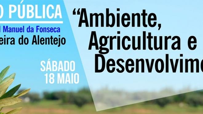 """Ferreira discute """"Ambiente, Agricultura e Desenvolvimento"""""""