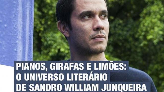 Universo Literário de Sandro William Junqueira hoje na Biblioteca de Beja