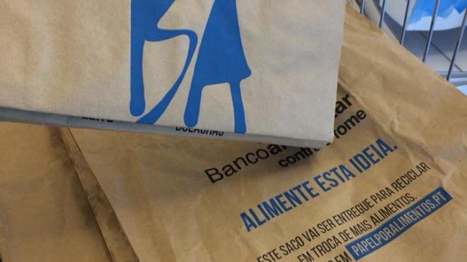 Campanha do BA Contra a Fome durante o fim-de-semana
