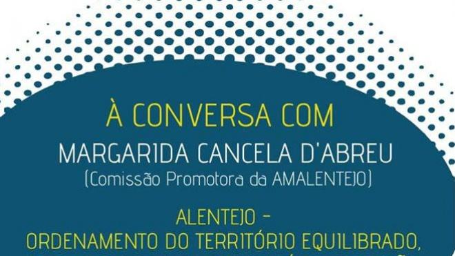 AMAlentejo promove conversa em Beja sobre o PNPOT