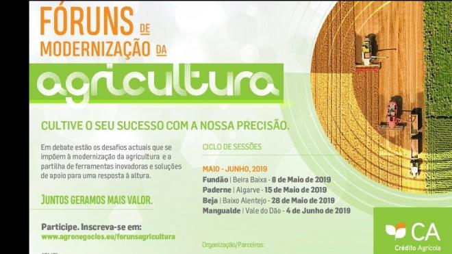 Beja recebe Fóruns de Modernização da Agricultura do Crédito Agrícola