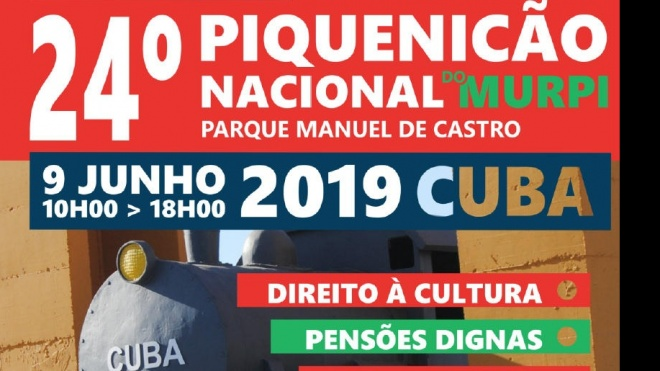 Cuba recebe 24ª Piquenicão Nacional do MURPI