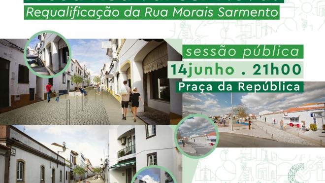 Castro Verde: Requalificação da Rua Morais Sarmento