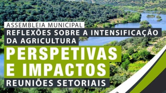 Assembleia Municipal de Beja discute intensificação da agricultura