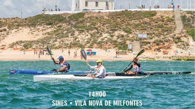 Milfontes recebe prova de canoagem de mar