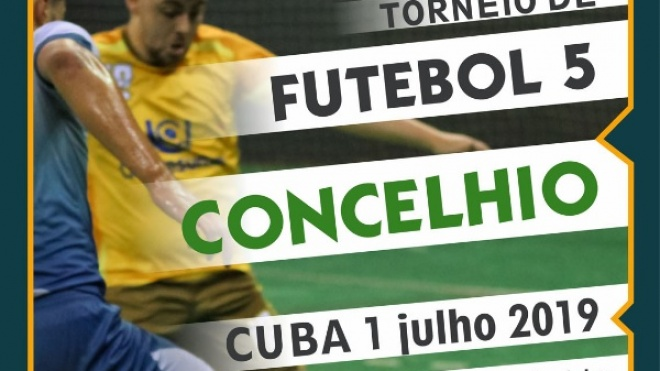 Torneio Concelhio de Futebol 5 com inscrições abertas