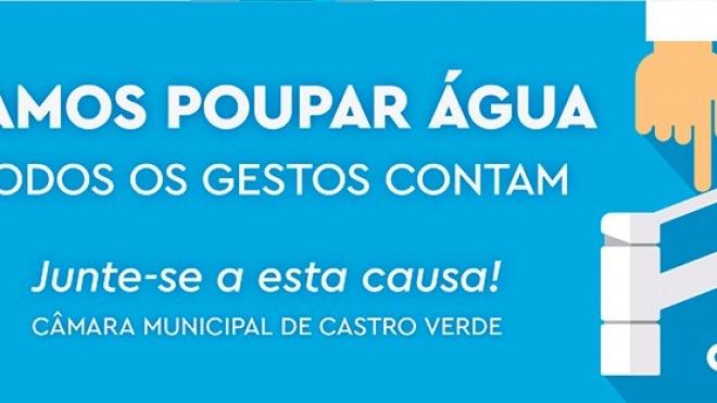 Castro Verde apela à poupança de água