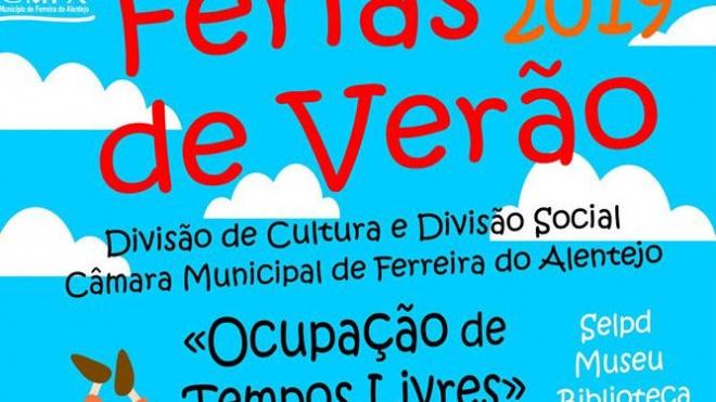 """Inscrições para """"Férias de Verão"""" em Ferreira do Alentejo"""