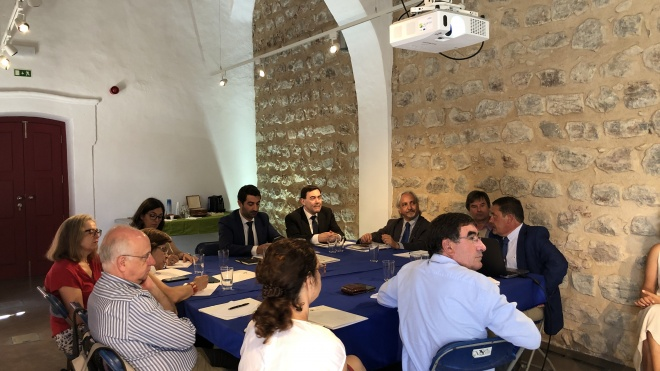 Serpa recebe visita da Internacional Network of Eco Regions