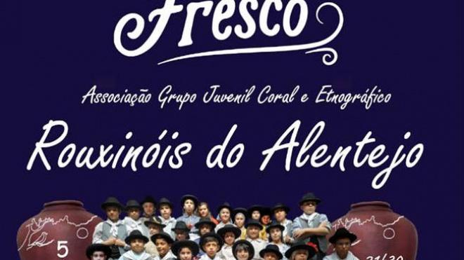 Rouxinóis do Alentejo atuam em Santa Vitória